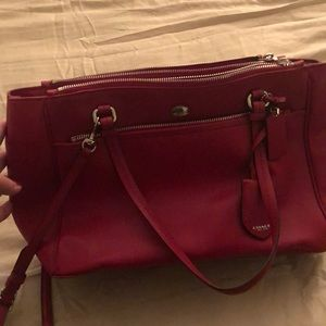 Coach original leather bag with tag